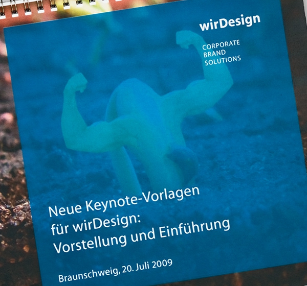 <brand>wirDesign<br></brand>Keynote-Templates