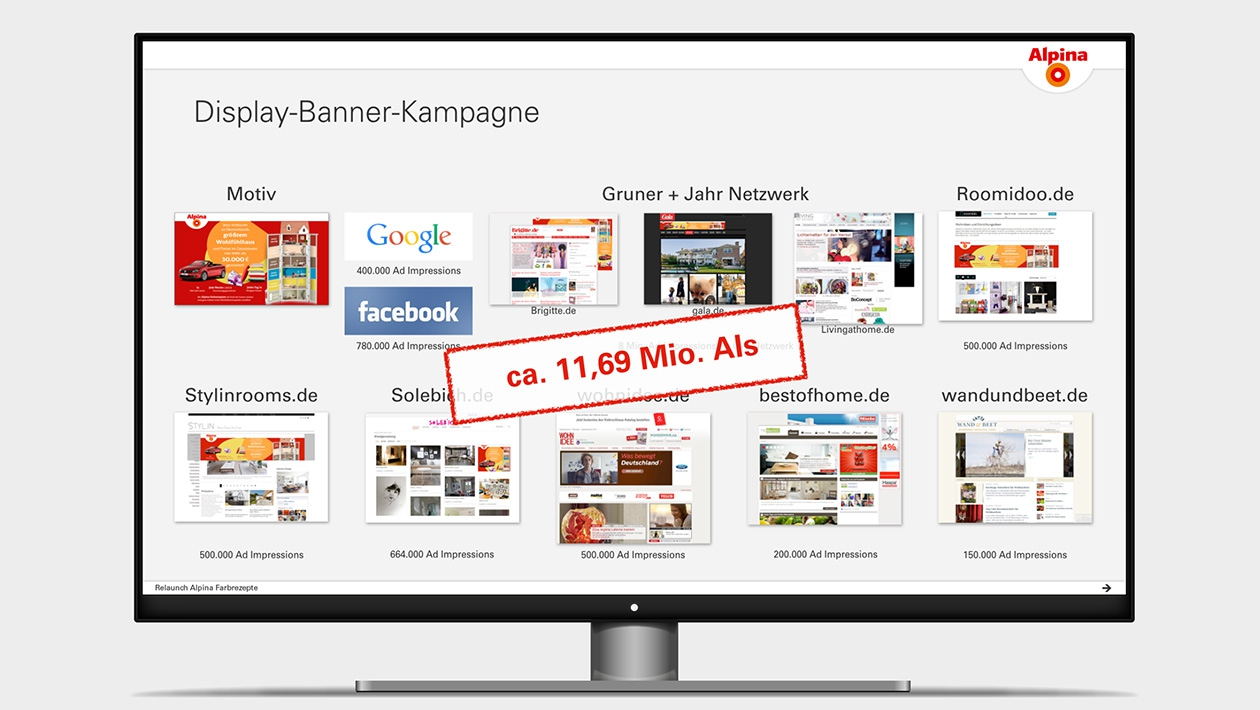 Screenshot aus einer Keynotepräsentation-Präsentation mit Übersicht