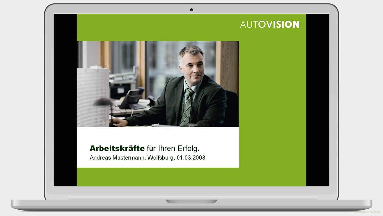Screenshot einer Powerpoint-Titelfolie