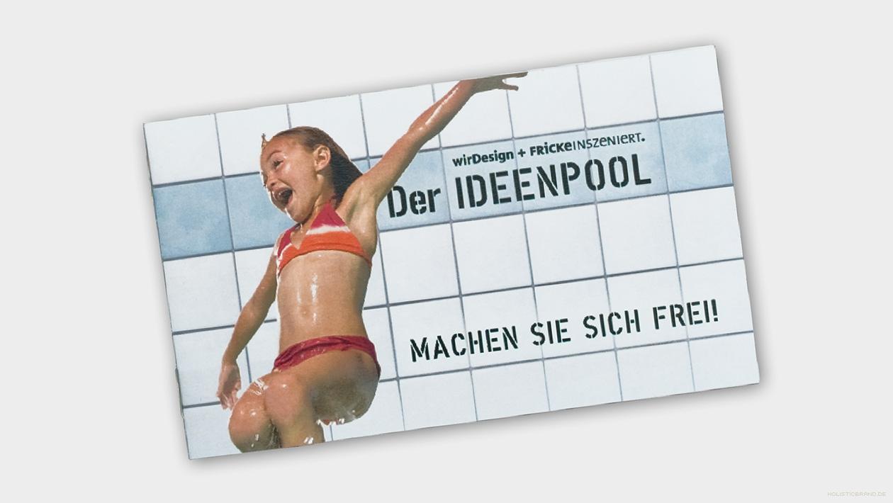 Fotografie einer Broschüre