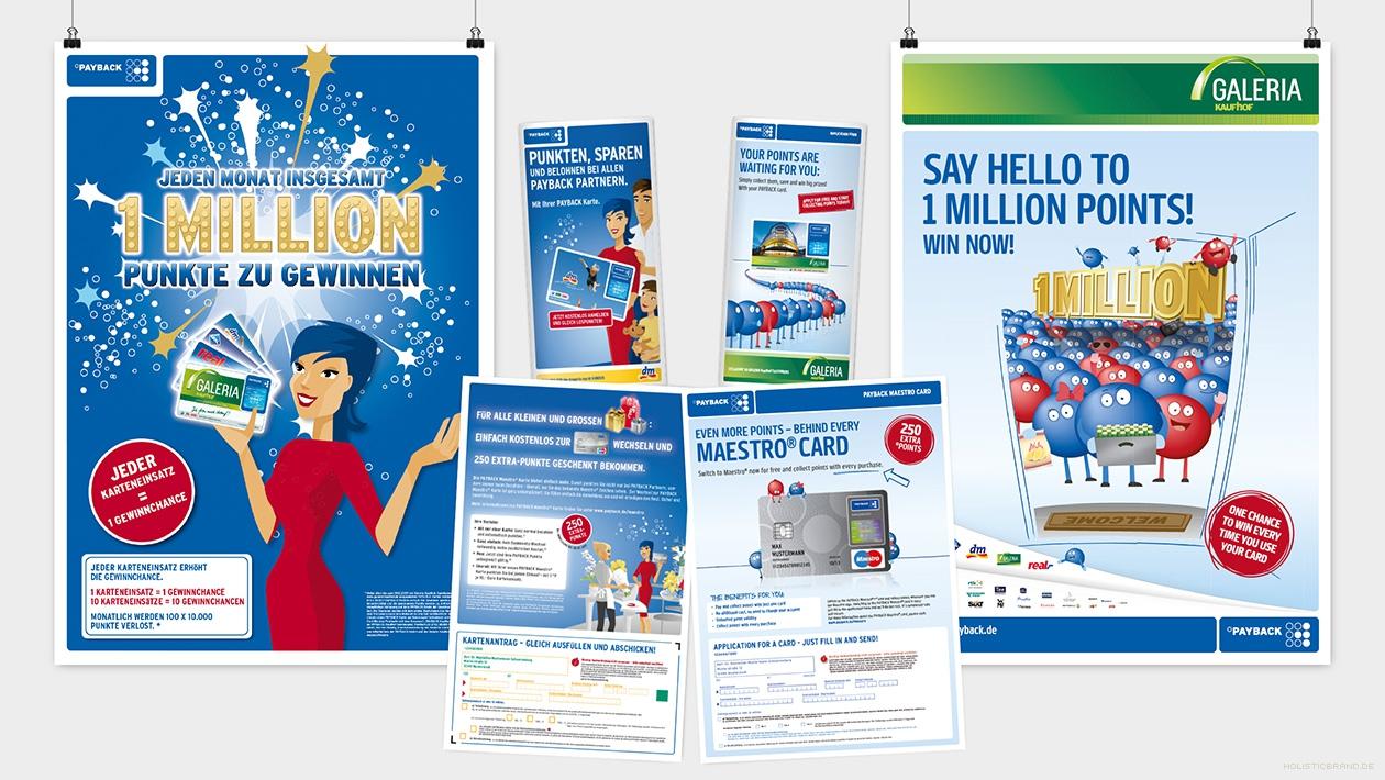 Gegenüberstellung von Kommunikationsmedien vor und nach dem Design-Relaunch