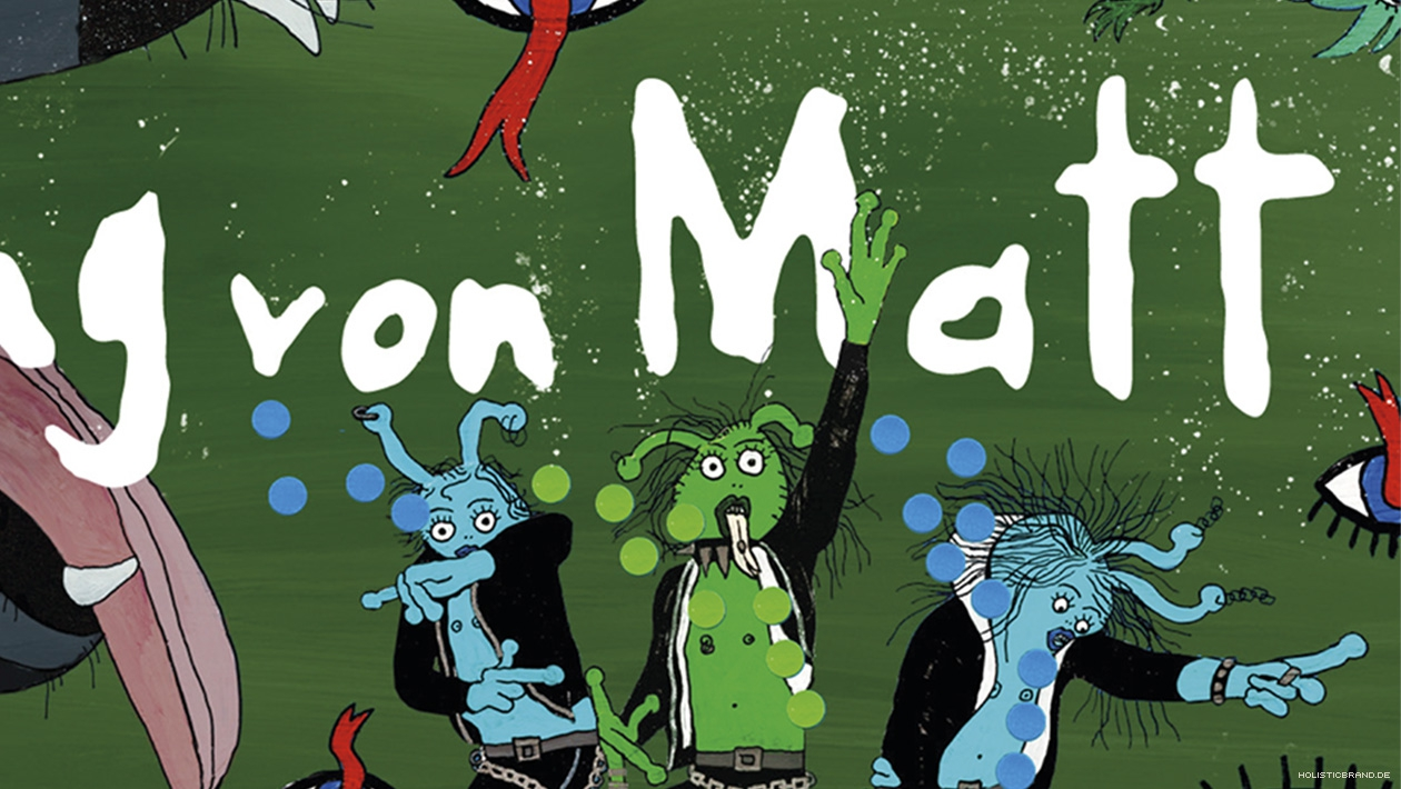 Detailausschnitt einer markentypischen Jung-von-Matt-Illustration